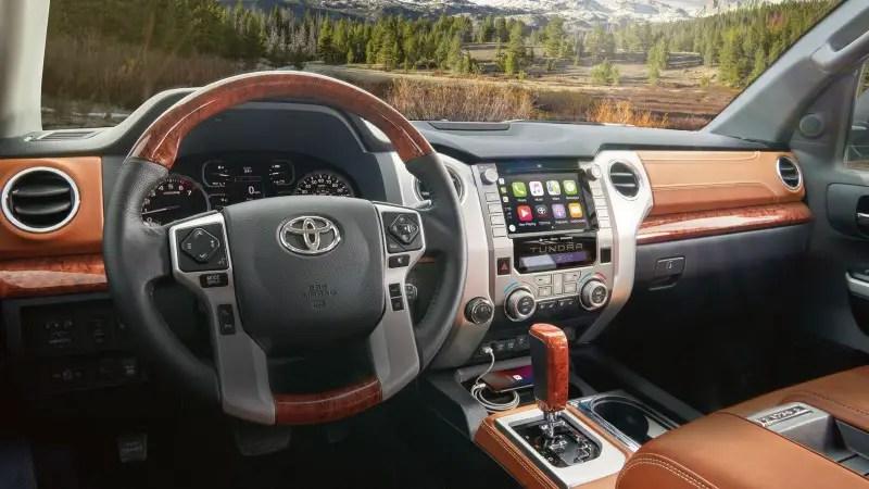 2020 Toyota Tundra 4x4 Interior Features