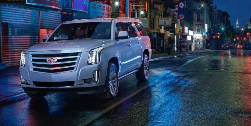 2020 Cadillac Escalade Silver Color