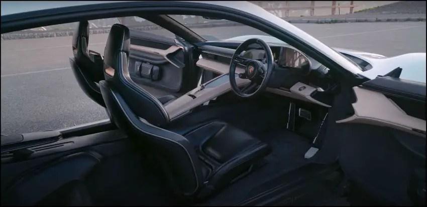 2020 Porsche Taycan Interior Pictures