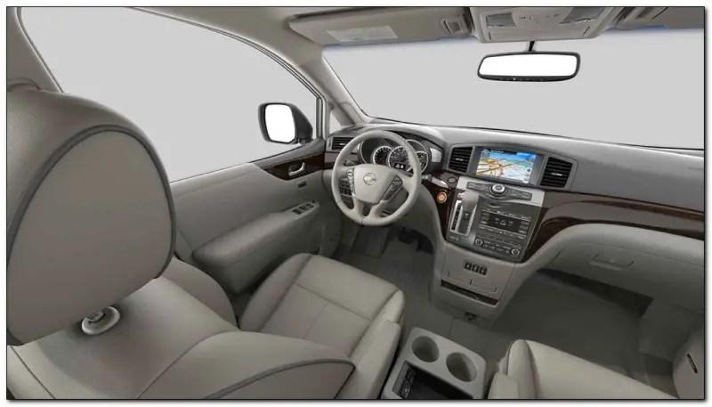 2021 Nissan Quest Interior Dashboard Feature Update