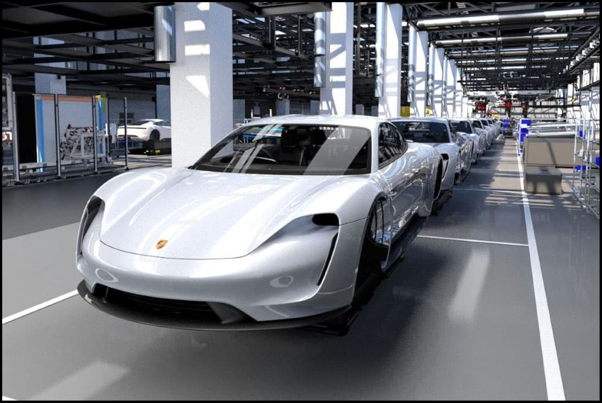 Porsche Taycan MSRP and Productions Pre Order
