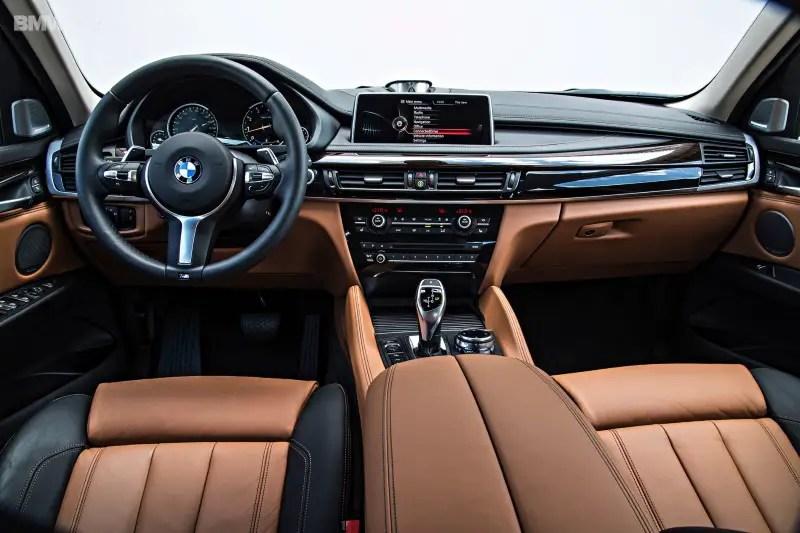 2020 BMW X6 Interior features With iDrive Platform