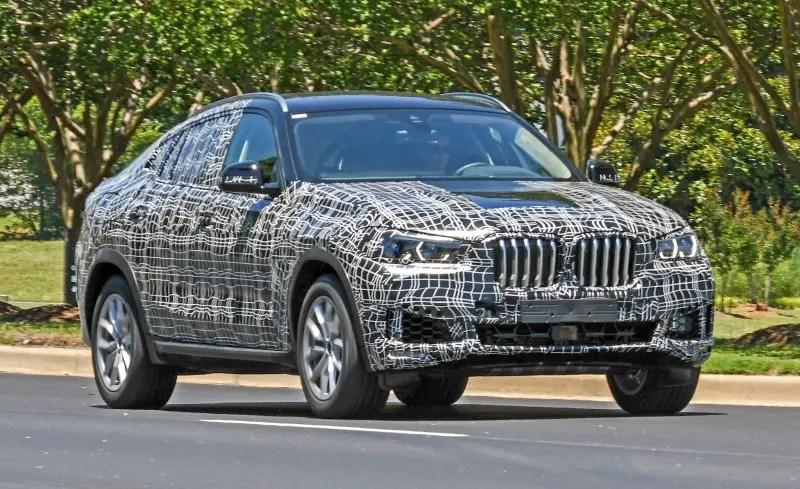 2020 BMW X6 Spied Images - Updates