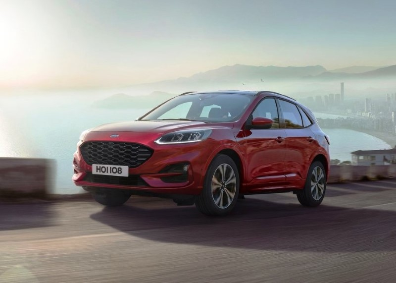 2020 Ford Kuga Hybrid Exterior Changes