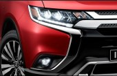 2020 Mitsubishi Outlander New Headlight design