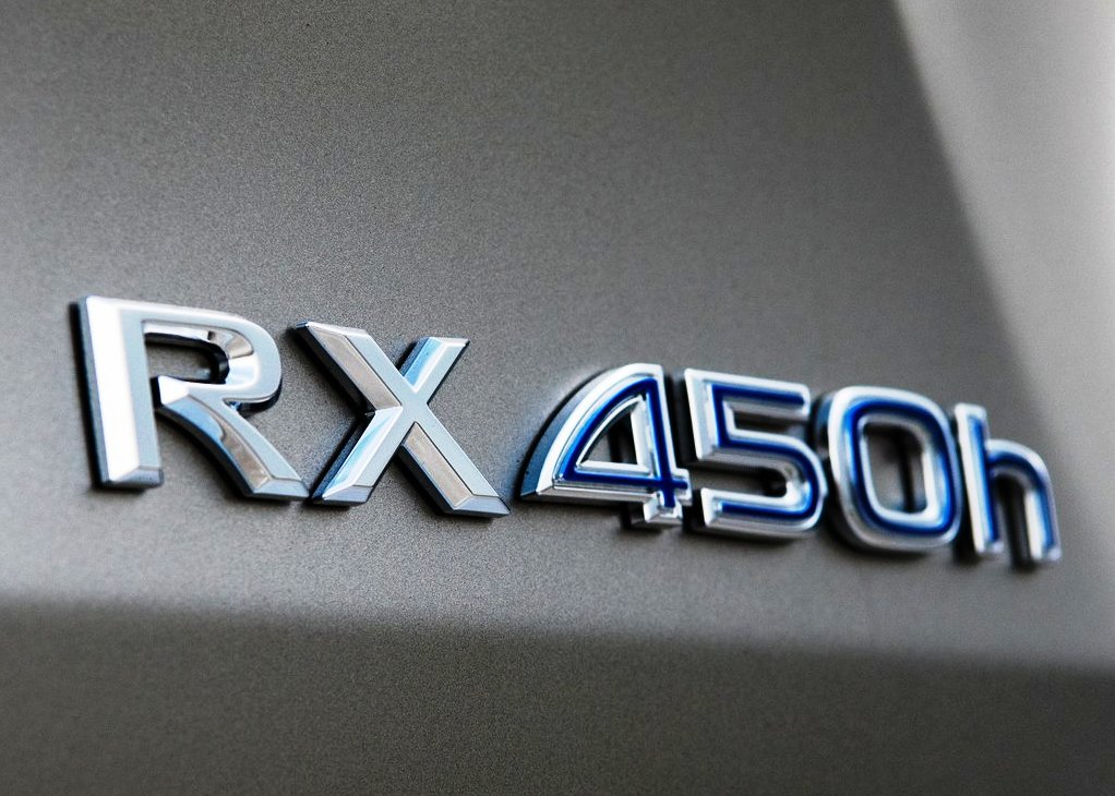 2021 Lexus RX 450h Emblem