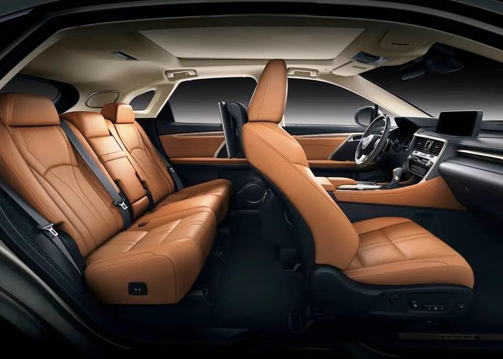 2021 Lexus RX 450h Interior Pictures