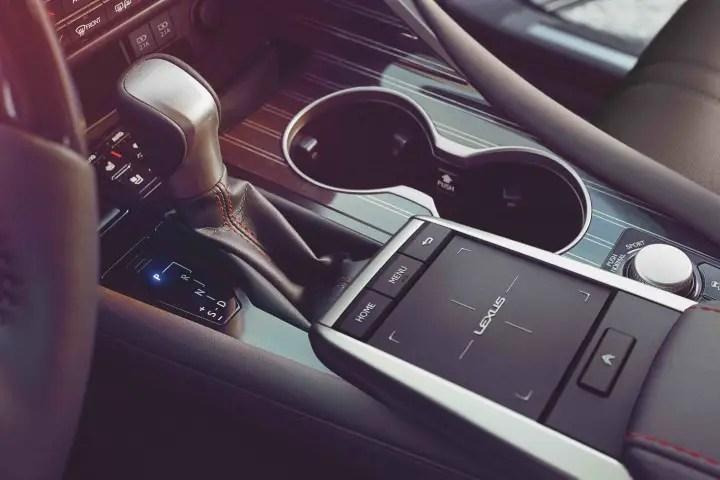 2021 Lexus RX 450h Interior Standard Features