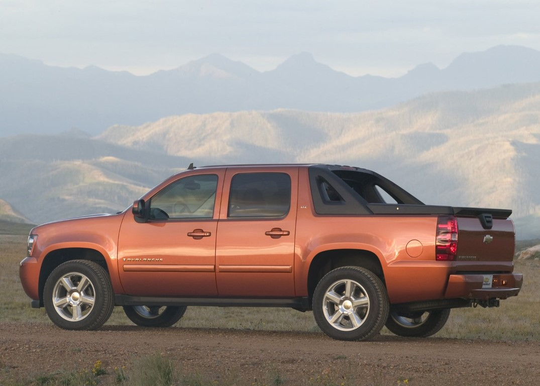 2020 Chevy Avalanche Gas Mileage and Towing Capacity