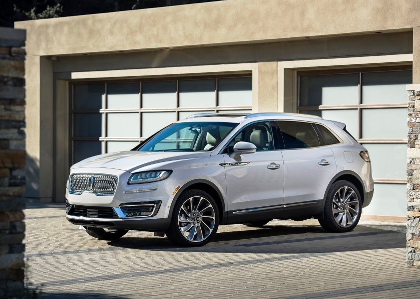 2020 Lincoln Nautilus SUV Specifications