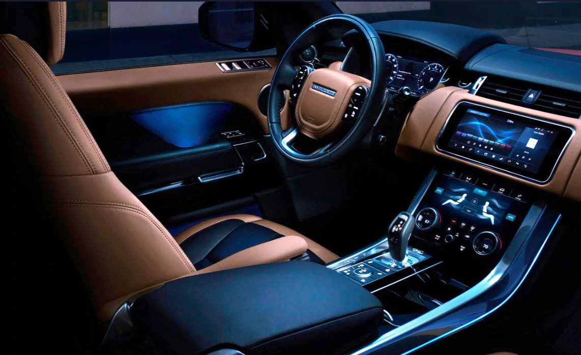 2021 Range Rover Sport Interior Changes