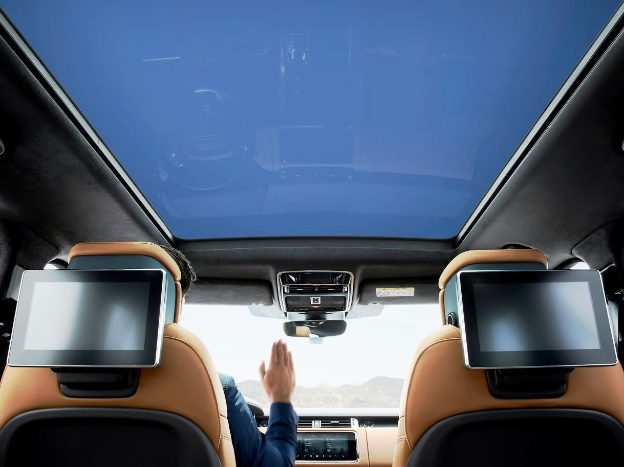 2021 Range Rover Sport Sun Roof