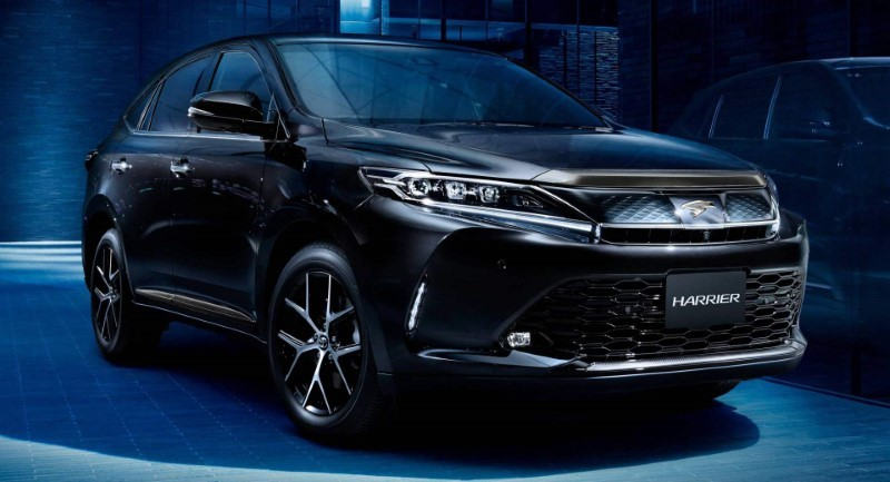 2021 Toyota Harrier Redesign & Changes