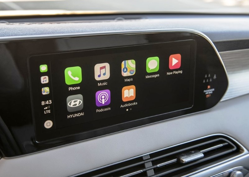 2021 Hyundai Palisade Apple Carplay Review