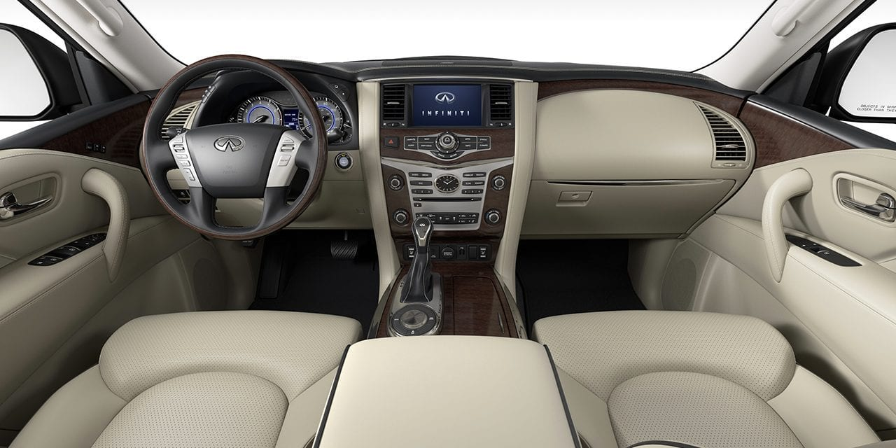 2021 Infiniti QX80 Interior Colors