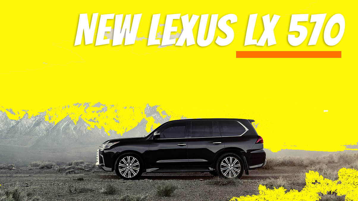 2021 Lexus LX570 Facelift Model Concept