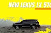 2021 Lexus LX570 Facelift Model Concept