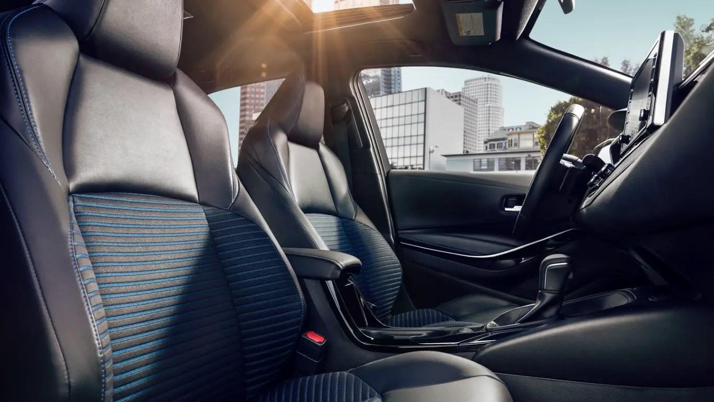 2021 Toyota Corolla Interior Updates