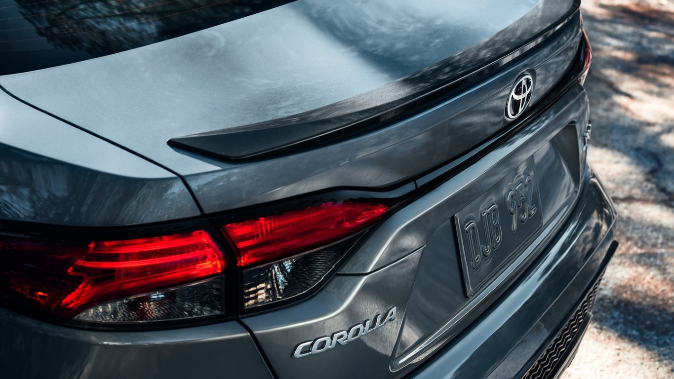 2021 Toyota Corolla Tail Light