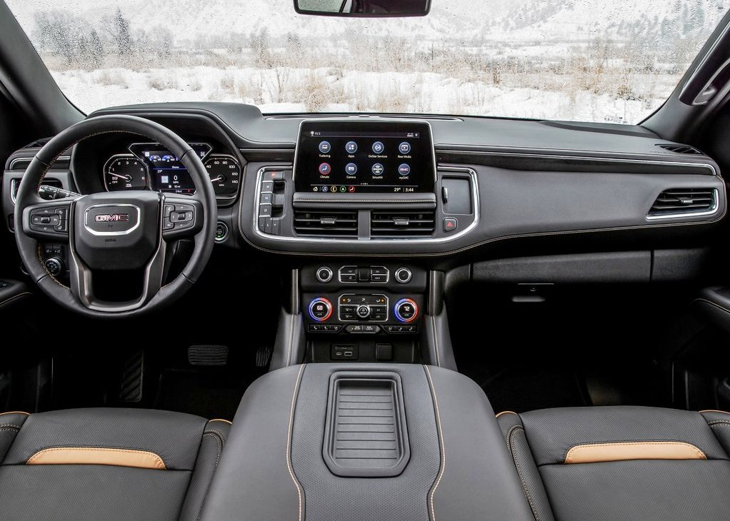 2021 GMC Yukon AT4 Interior Dashboard