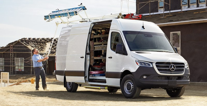 2021 Mercedes Sprinter Cargo van Review