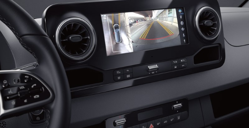 2021 Mercedes Sprinter Safety System