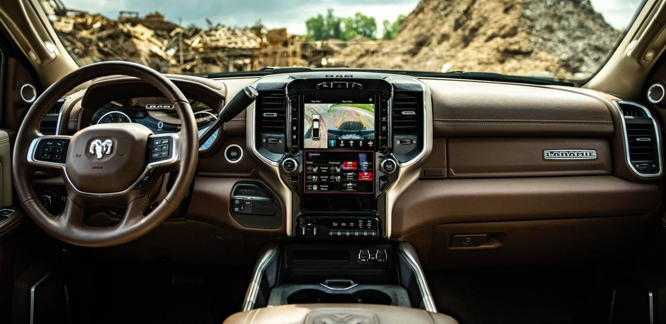 2021 RAM 3500 Interior Dashboard