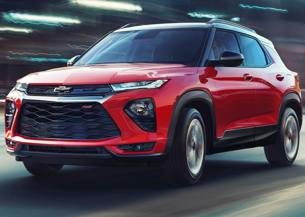 2021 Chevrolet Trailblazer RS Comes With Red Color