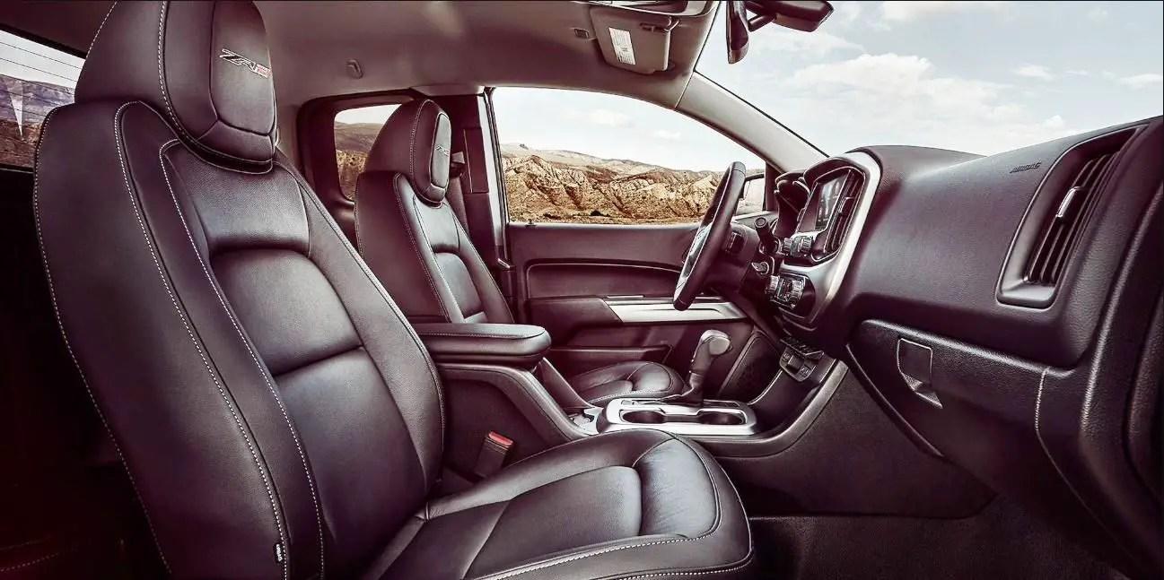2021 Chevy Colorado ZR2 Interior Updates