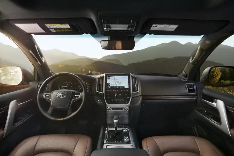 2021 Toyota Prado Interior