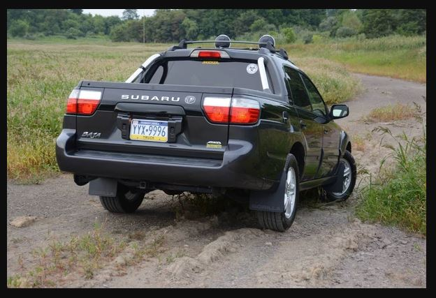Old Subaru Baja Truck