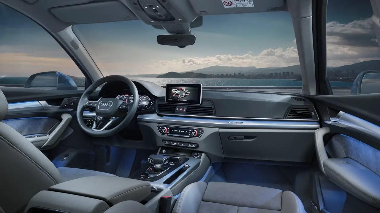 2021 Audi Q5 Interior Dimensions
