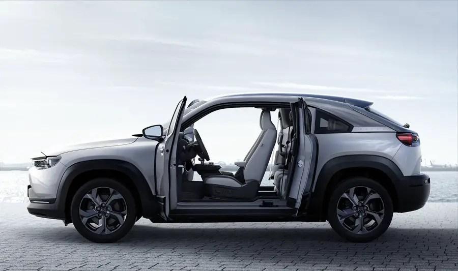 2021 Mazda MX-30 EV Crossover Release Date & Price