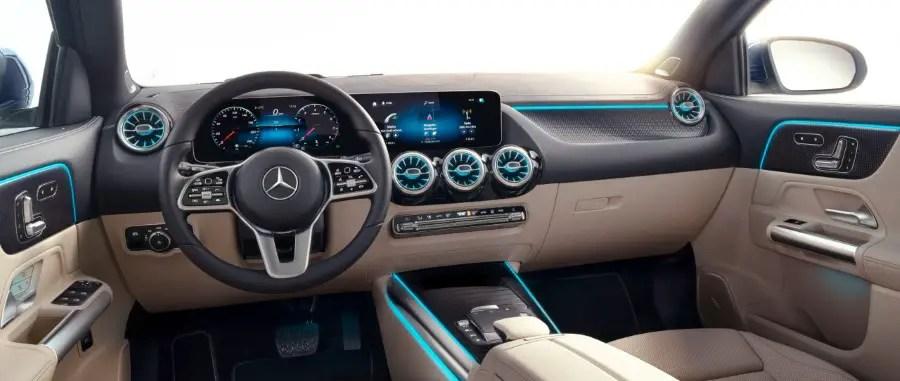 2021 Mercedes GLA Interior Dashboard