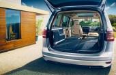2021 Volkswagen Sharan Trunk Capacity