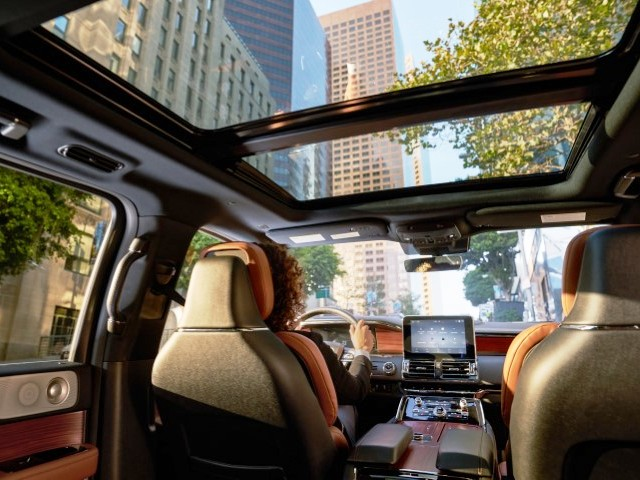 New Lincoln MKT Interior