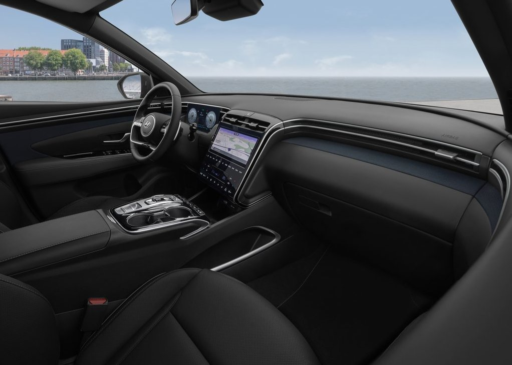 2022 Hyundai Santa Cruz Interior ilustrations based On Tucson SUV