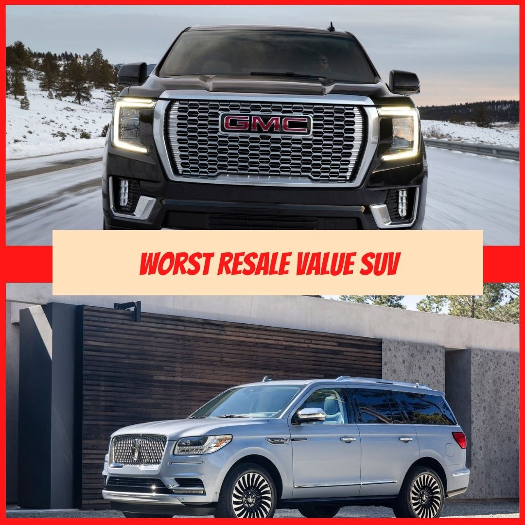 Worst Resale Value SUV