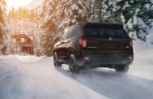 2022 Honda Passport All-Whell-Drive Performance on the Snow Driving