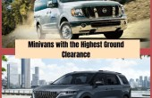 Highest Ground Clearance Minivans In The United States