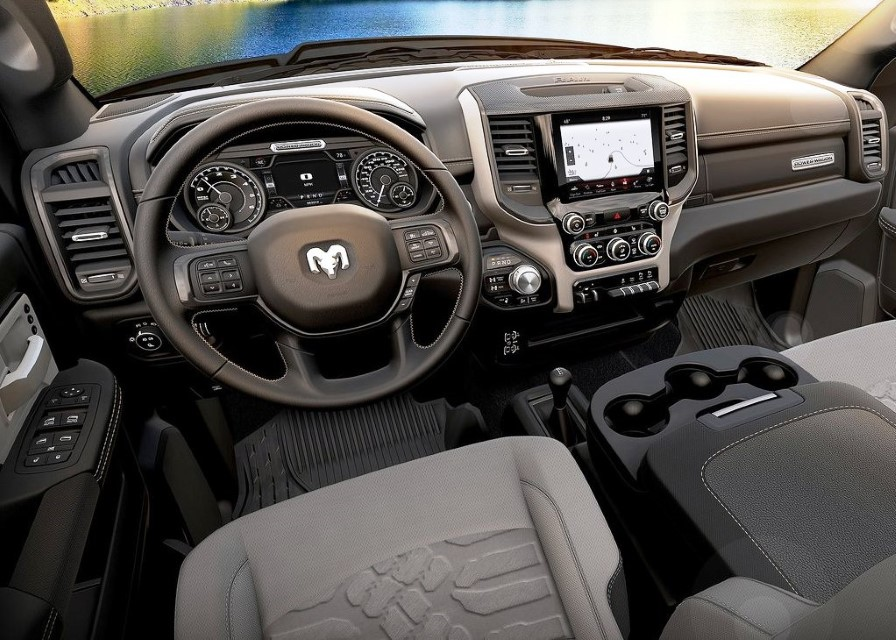2021 Ram Macho Power Wagon Interior Dashboard