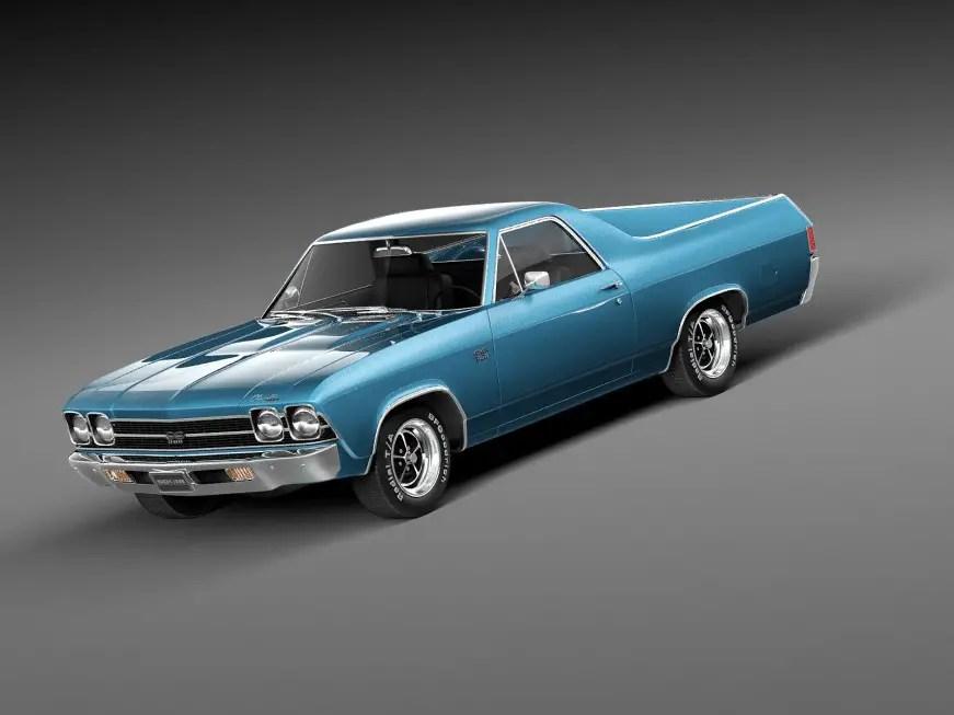 Classic 1969 Chevrolet El-Camino