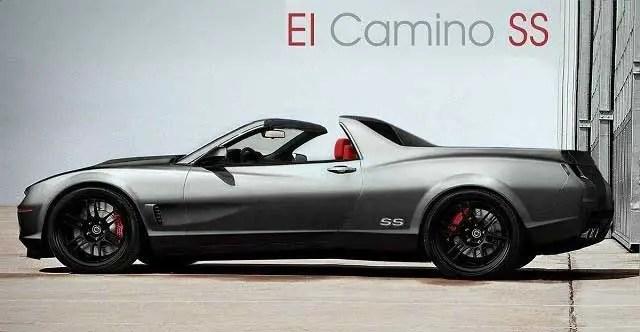 New Chevrolet El-Camino Concept