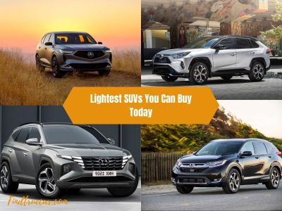 Read more about the article Top 10 Lightest SUVs You Can Buy Today