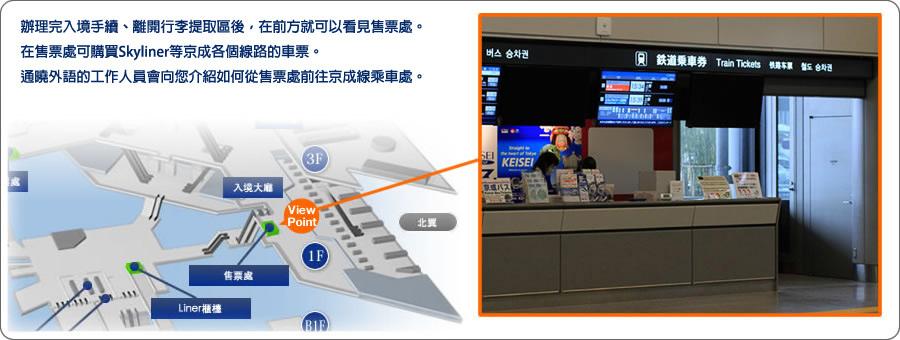【成田機場到上野】Skyliner京成電鐵+東京地鐵套票+寄送行李服務   發現心樂園