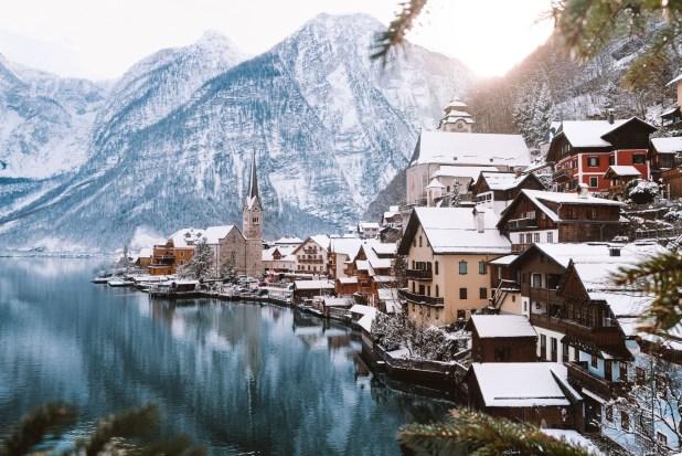 Поездка в Европу. Зима