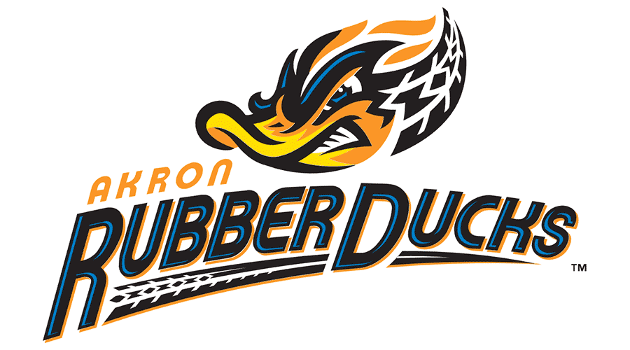 akron rubberducks vector logo