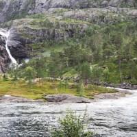 Die Wasserfall-Wanderung von Husedalen