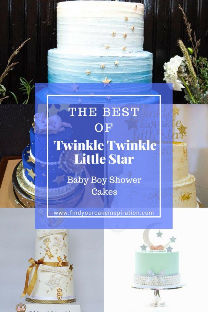 Twinkle Twinkle Little Star Baby Boy Shower Cakes Find