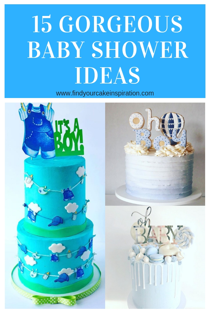 Rustic Baby Shower Sheet Cake : rustic, shower, sheet, Gorgeous, Shower, Cakes, Inspiration